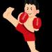 シャドーボクシングとかいう、痩せる、筋肉がつく、強くなる、という三拍子が揃ったトレーニングw