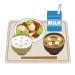 【画像】Amazonジャパン本社の社食の定食(470円)がこちらwwwwwwwwwwww